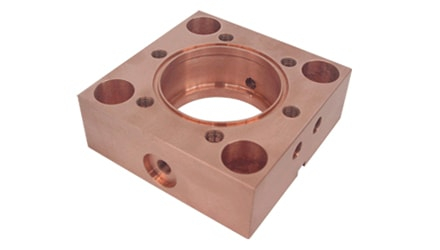 Copper Electrical Component for the Energy Industry