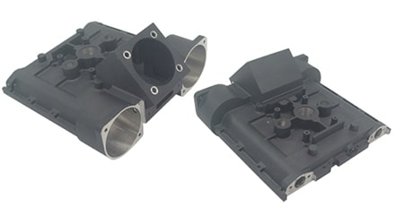 Complex Part Machined from Investment Casting